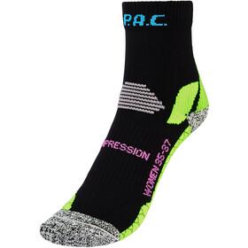 P.A.C. RN 6.0 Running Pro Mellemkompressionssokker Damer, sort/grøn